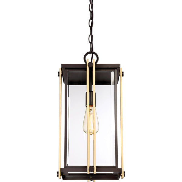 Quoizel GLD1910WT Goldenrod 1 Light 10 inch Western Bronze Outdoor Hanging Lantern