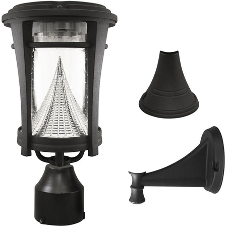 Dimond Lighting D4388 Sloan 25 inch 100 watt Brown and Grey Outdoor Table Lamp