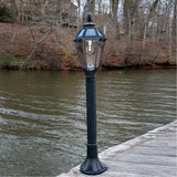 Gama Sonic Polaris Black Bollard Solar Light