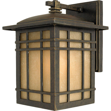 Quoizel Booker 1 Light 12 inch Industrial Aluminum Outdoor Wall Light