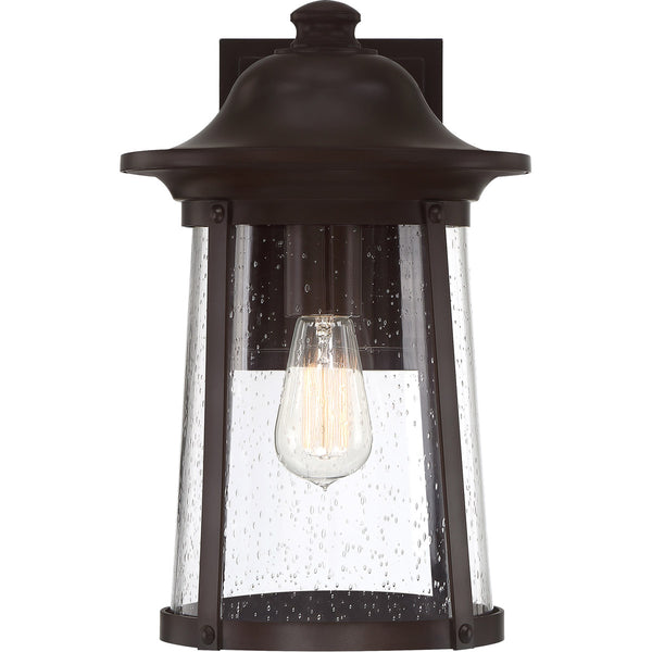 Quoizel Hogan 1 Light 15 inch Western Bronze Outdoor Wall Lantern