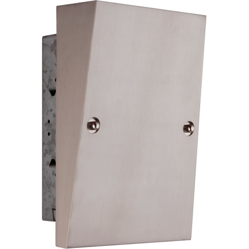 Craftmade Recessed Wedge Brushed Polished Nickel Chime