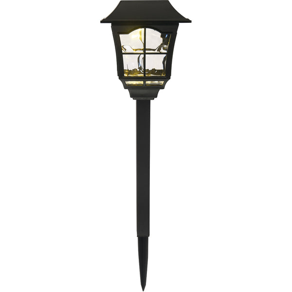 Living District Rhea 0.07 watt Black Outdoor Path Light Pack of 6