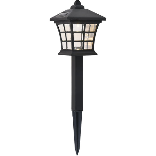 Living District Dux 0.08 watt Black Outdoor Path Light Pack of 6