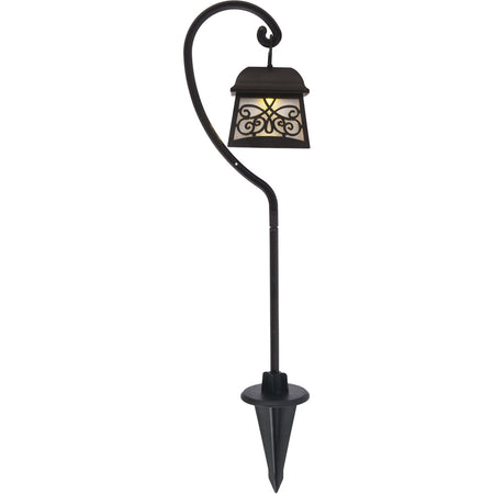 Living District Jardin 0.02 watt Black Outdoor Path Light Pack of 6