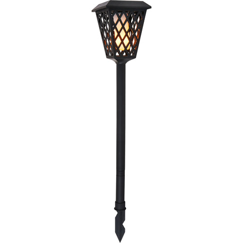 Living District Alvina 0.4 watt Black Outdoor Path Light Pack of 2
