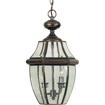 Livex Monterey 4 Light 16 inch Bronze Outdoor Hanging Lantern