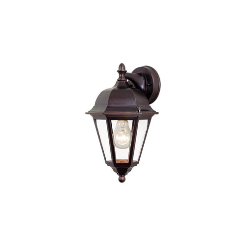 Vaxcel Birchard 1 Light 14 inch Oil Burnished Bronze Outdoor Wall Light