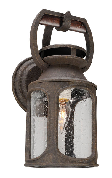 Troy-CSL Lighting Old Trail 1 Light 14 inch Centennial Rust Outdoor Wall Sconce in Incandescent