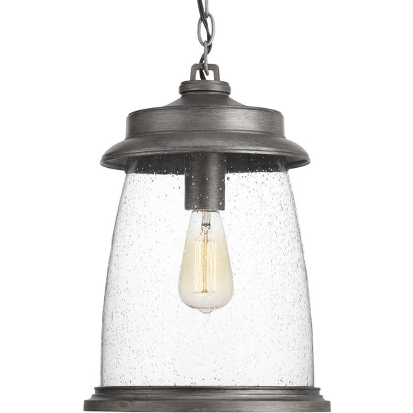 Progress Lighting Conover 1 Light 11 inch Antique Pewter Outdoor Hanging Lantern