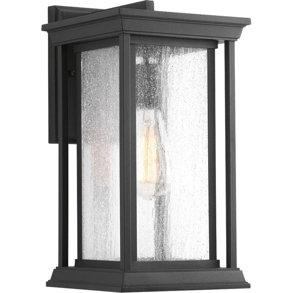 Progress Lighting Endicott 1 Light 14 inch Black Outdoor Wall Lantern Medium