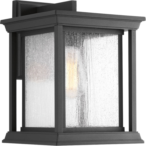 Progress Lighting Endicott 1 Light 13 inch Black Outdoor Wall Lantern Large
