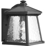 Progress Lighting Mac 1 Light 12 inch Black Outdoor Wall Lantern