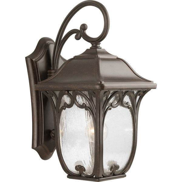 Progress Lighting Enchant 1 Light 19 inch Espresso Outdoor Wall Lantern