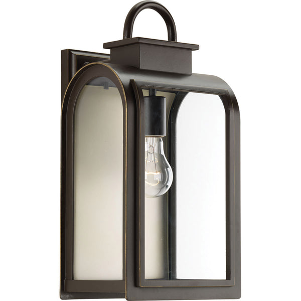 Progress Lighting Refuge 1 Light 16 inch Oil Rubbed Bronze Outdoor Wall Lantern