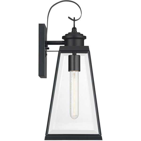 Quoizel Paxton 1 Light 18 inch Matte Black Outdoor Wall Lantern