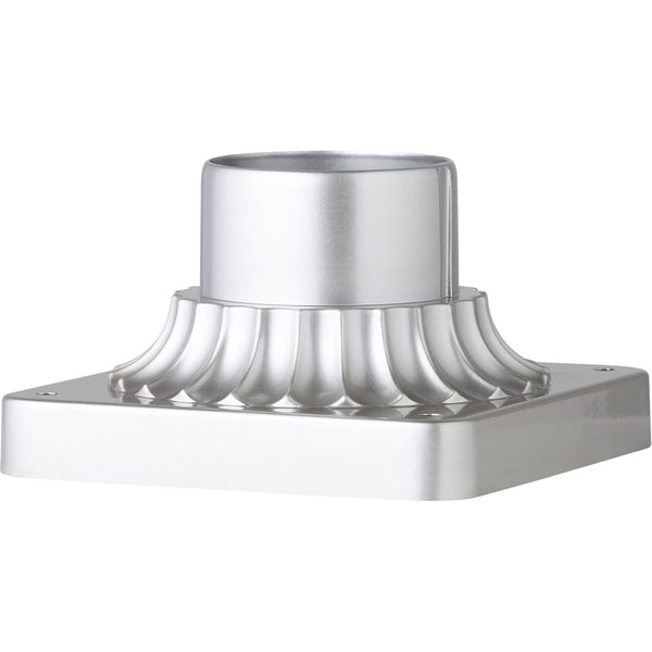 Feiss Signature 3 inch Painted Brushed Steel Pier Mount Base