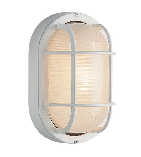 Trans Globe Lighting Aria Rust Outdoor Bulkhead