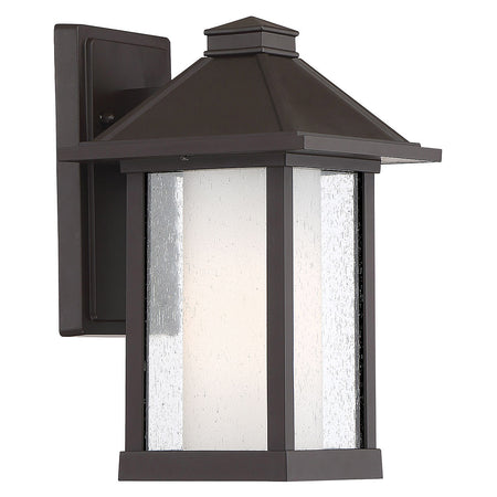 Light Visions Industrial 1 Light 8 inch Oil Rubbed Bronze Outdoor