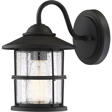 Trans Globe Lighting Ansel 2 Light 9 inch Rust Outdoor Flushmount Lantern