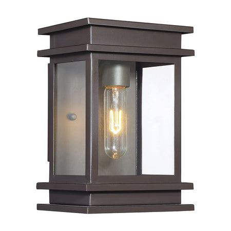 Savoy House Lighting Dunbar 4 Light 14 inch Matte Black W/ Polished Chrome Accents Lantern in Matte Black with Polished Chrome Accents