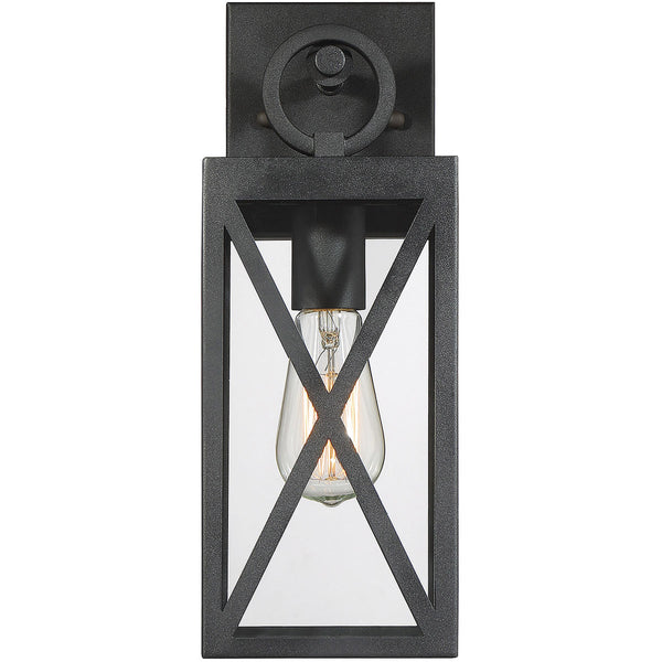 Light Visions Farmhouse 1 Light 5 inch Black Outdoor