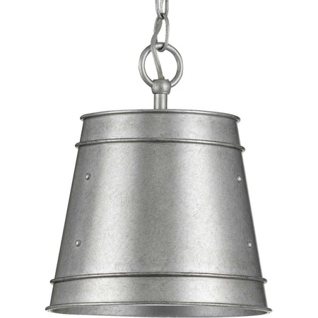 Vaxcel Mission 1 Light 7 inch Oil Burnished Bronze Outdoor Pendant