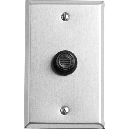Quorum International 7-302-92 Lighting Accessory Antique Silver Basic Narrow Doorbell