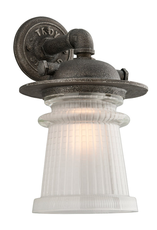 Troy-CSL Lighting B4353 Pearl Street 1 Light 17 inch Charred Zinc Outdoor Wall Sconce