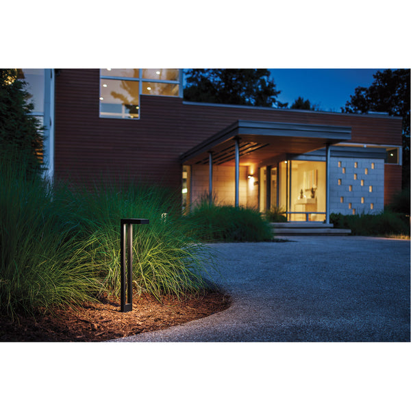Kichler Lighting Signature 12V 16.25 watt Textured Architectural Bronze Path Light Two Arm