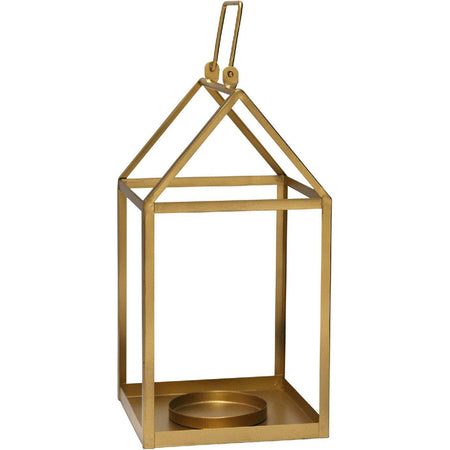 Stratton Home Decor S15038 Signature 10 inch Rustic Silver Lantern