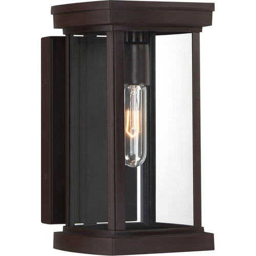 Quoizel Sandoval 1 Light 12 inch Western Bronze Outdoor Wall Lantern