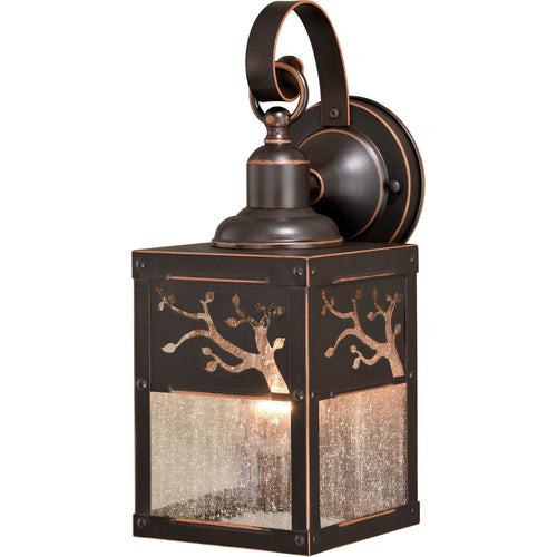 Vaxcel Alberta 1 Light 13 inch Burnished Bronze Outdoor Wall Light
