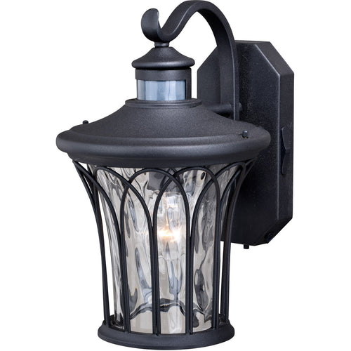Vaxcel Abigail 1 Light 14 inch Textured Black Outdoor Wall Light