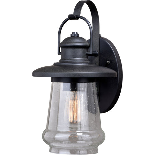 Vaxcel Bridgeport 1 Light 17 inch Oil Rubbed Bronze Outdoor Wall Light