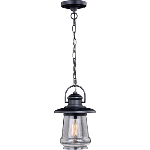 Vaxcel Bridgeport 1 Light 8 inch Oil Rubbed Bronze Outdoor Pendant