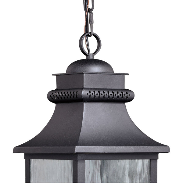 Vaxcel Cambridge 1 Light 8 inch Oil Rubbed Bronze Outdoor Pendant