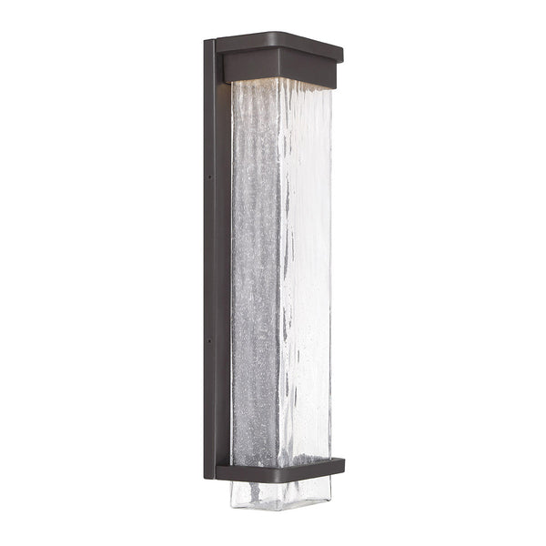 Modern Forms Vitrine 1 Light 21 inch Bronze Outdoor Wall Light