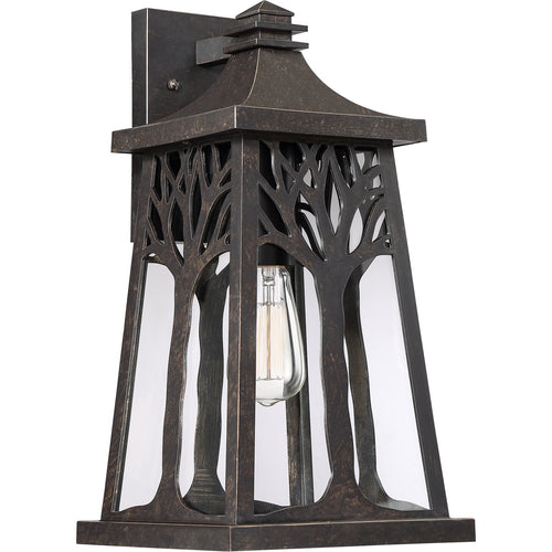 Quoizel Wildwood 1 Light 18 inch Imperial Bronze Outdoor Wall Lantern Large WWD8409IB - Open Box