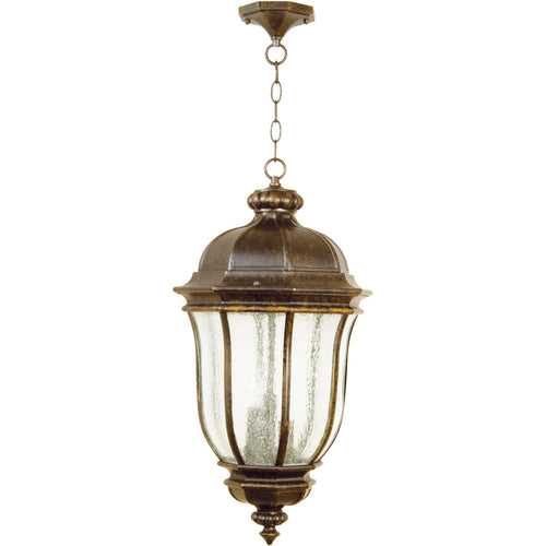 Craftmade Harper 3 Light 12 inch Peruvian Bronze Outdoor Pendant in Incandescent Large