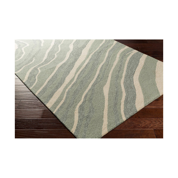 Decovio Patton 120 X 96 inch Gray and Gray Outdoor Area Rug Polypropylene