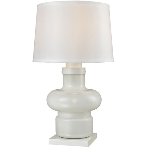 Dimond Lighting D3293 Sugar Loaf Cay 29 inch 100 watt Milk Glass Outdoor Table Lamp