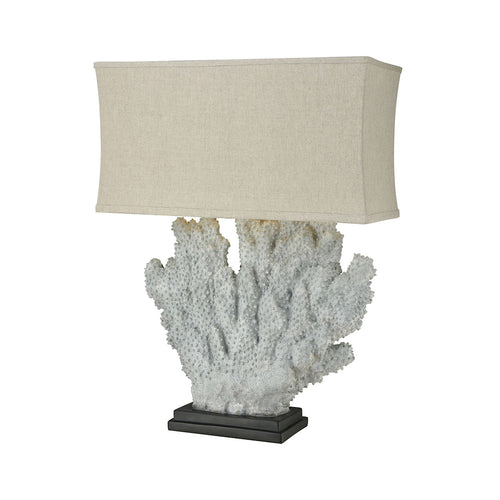 Dimond Lighting D3295 Sandy Neck 40 inch 100 watt Distressed Grey Coral Outdoor Table Lamp Oversized