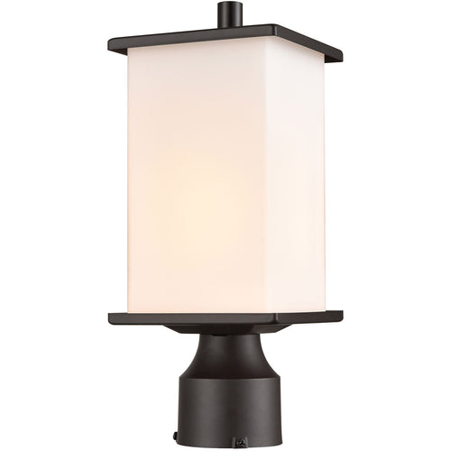 Thomas Lighting EN110196 Broad Street 1 Light 12 inch Textured Black Outdoor Post Mount