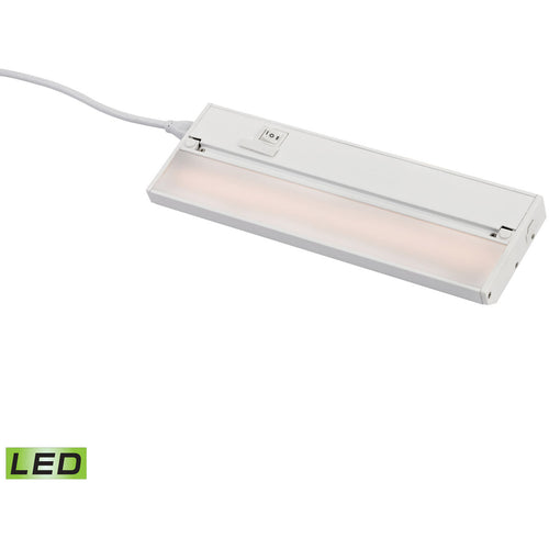 Decovio 15154-WCL1 Rockhill LED 1 inch White Utility Light