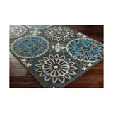 Surya Portera 68 X 45 inch Blue and Blue Outdoor Area Rug Polypropylene