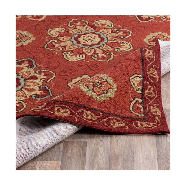 Surya RAI1071-23 Rain 36 X 24 inch Orange and Red Outdoor Area Rug Polypropylene
