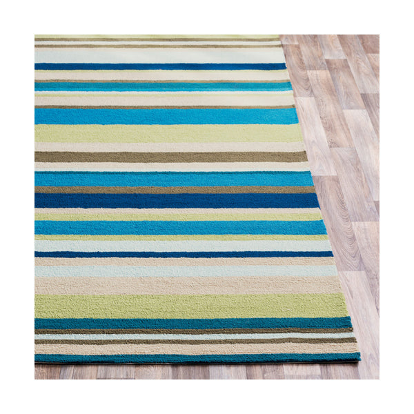 Surya RAI1208-1616 Rain 18 X 18 inch Lime Outdoor Area Rug Sample