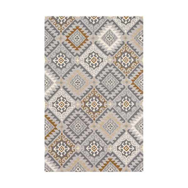 Surya Rain 120 X 96 inch Charcoal Outdoor Area Rug Rectangle