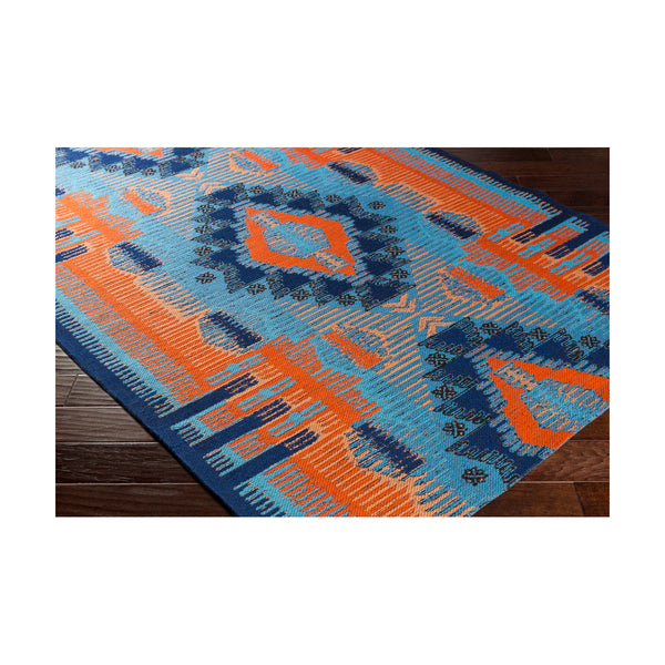 Surya Sajal 120 X 96 inch Sky Blue Outdoor Area Rug Rectangle